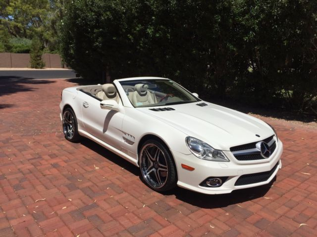 Mercedes sl 550 two toned int custom wheels extended for Best extended warranty for mercedes benz