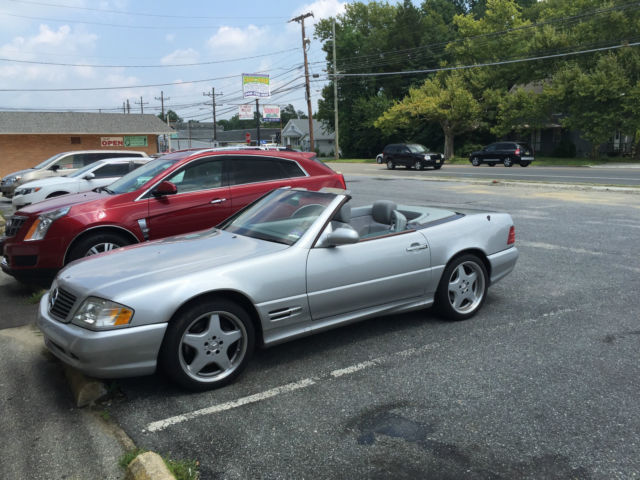 Mercedez benz sl 500 amg r129 low mileage nice clean car for Mercedes benz r 500