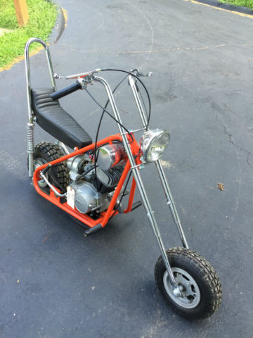 ... Mini Bike Bonanza Chopper Concourse Restored. 1968 Other Makes Bonanza  Chopper