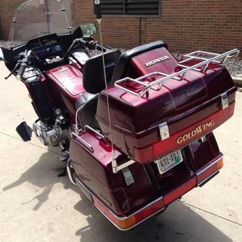 Mint 1984 Honda Goldwing Interstate 1200 28,799 ORIGINAL miles