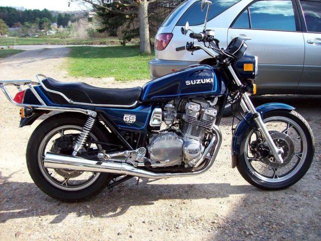 Suzuki Gs Blue