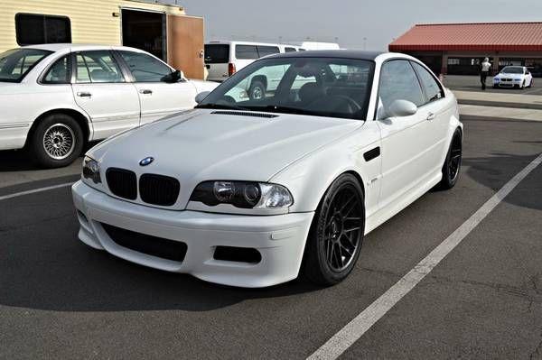 Minty Fresh BMW E46 M3 Slicktop ZCP Alpine White