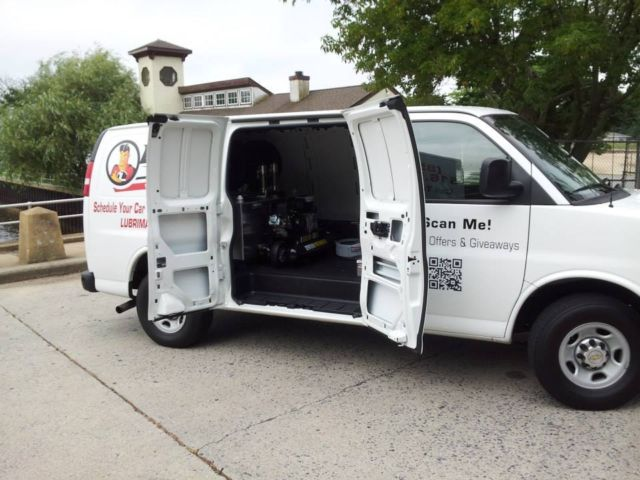 Mobile Oil Change Unit 2013 Chevrolet Express 2500 Van