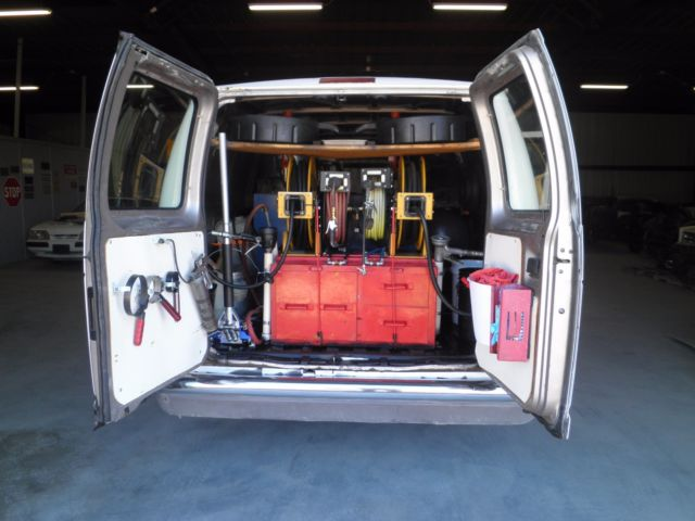 Mobile Oil Change Van Lube Business 1995 E350 7 3 Powerstroke Diesel Work Ready