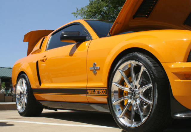 Mustang Shelby GT500 Supersnake Grabber Orange CARROLL ...