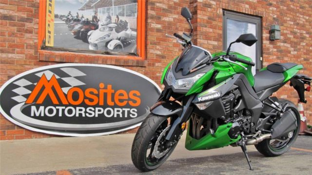 New 2013 Kawasaki Z1000 In Lime Candy Green Moving Sale Must Go