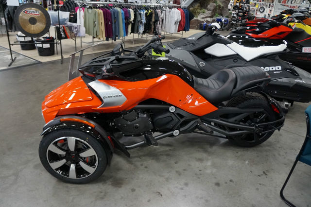 new 2015 can am spyder f3 s se6 motorcycle trike street. Black Bedroom Furniture Sets. Home Design Ideas