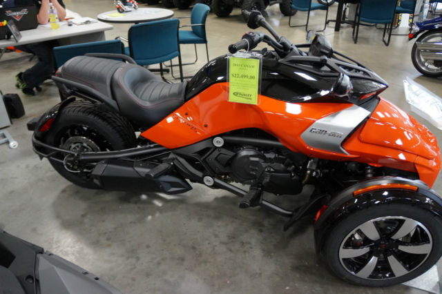 Can Am 3 Wheeler >> New 2015 Can-Am Spyder F3-S SE6 Motorcycle Trike Street