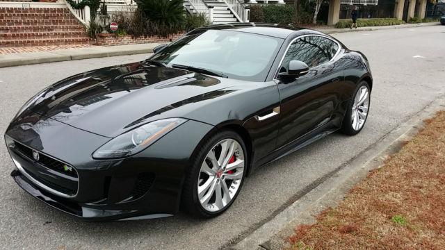 new 2015 jaguar f type r coupe 2 door 300 miles. Black Bedroom Furniture Sets. Home Design Ideas
