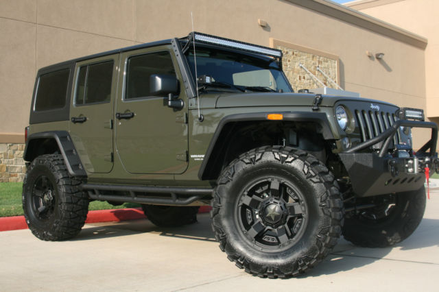 new 2015 jeep wrangler unlimited sport 4 door 4x4 tank green. Black Bedroom Furniture Sets. Home Design Ideas