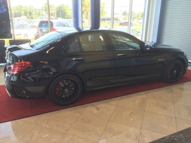 New 2015 Mercedes Amg C63 S Edition 1 Obsidian Rare Loaded Red Carbon Fiber Trim
