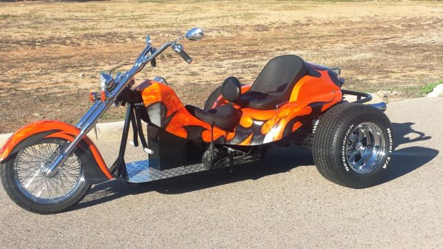 Tire Size Meaning >> NEW 2015 Motorcycle Trike, Custom Trike, Chopper Trike, VW Trike Motorcycle