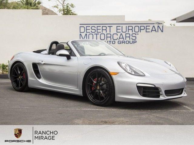 new 2015 porsche boxster s rhodium silver black - 2015 Porsche Boxster Silver