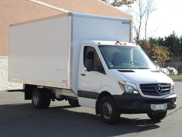 New 2015 Sprinter 3500 Cab Chassis Box Truck 11030 Lb Gvw