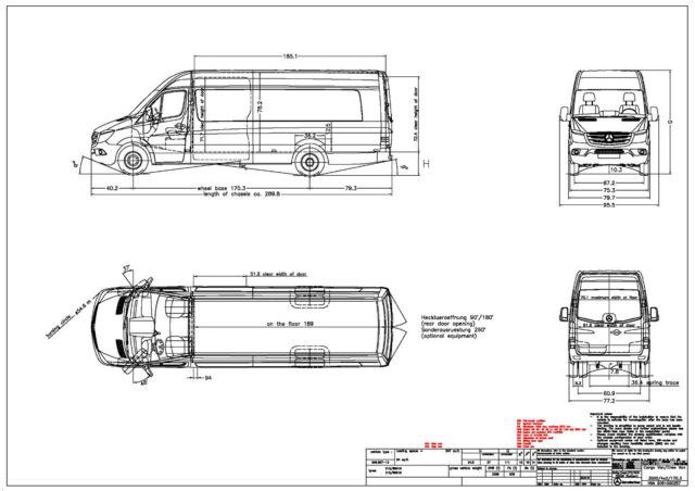 new 2015 sprinter 3500 cargo van 170-extended
