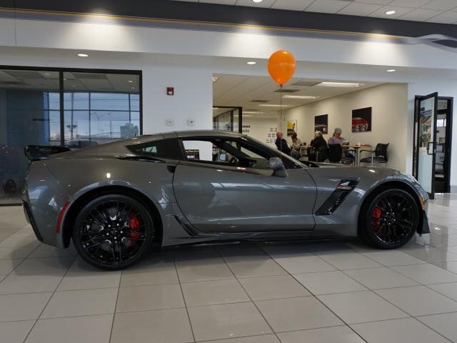 2016 Corvette Z07 >> NEW 2016 CHEVROLET CORVETTE Z06 1LZ MANUAL COUPE SHARK GRAY Z07 TRACK PKG 650HP