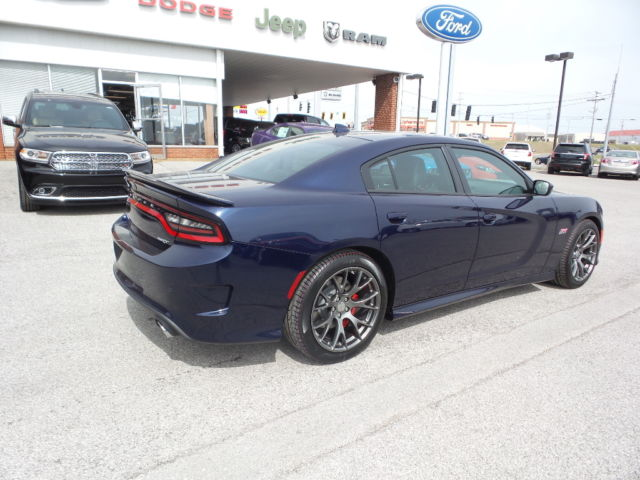 new 2016 dodge charger srt jazz blue pearl coat red. Black Bedroom Furniture Sets. Home Design Ideas