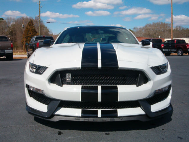 New Mustang Gt350 Avalanche Gray Painted Black Roof