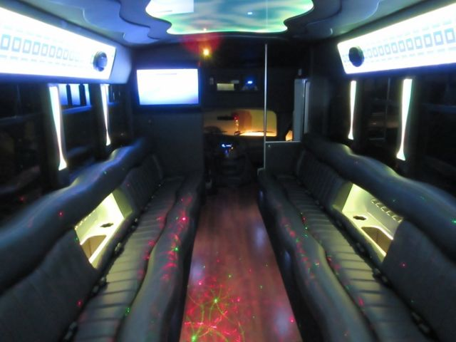 2015 Ford Conversion Van >> New Party Bus Conversion 2007 Ford E-450 24 Pass Limo Bus **Brand New Interior