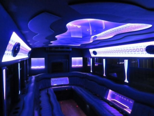 New Party Bus Conversion 2007 Ford E-450 24 Pass Limo Bus ...