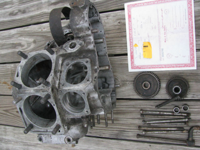nice 1951 fl case nj title panhead harley engine motor antique vintage bobber