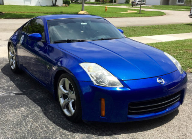 nissan 350z enthusiast package daytona blue. Black Bedroom Furniture Sets. Home Design Ideas