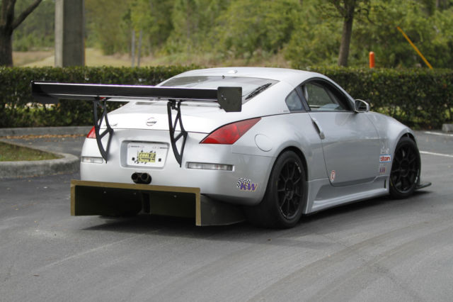 nissan 350z race car with 370z race engine 415 hp