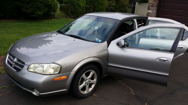 Nissan Maxima Xle 2000 Nice Running By Owner Gold Silver All Works