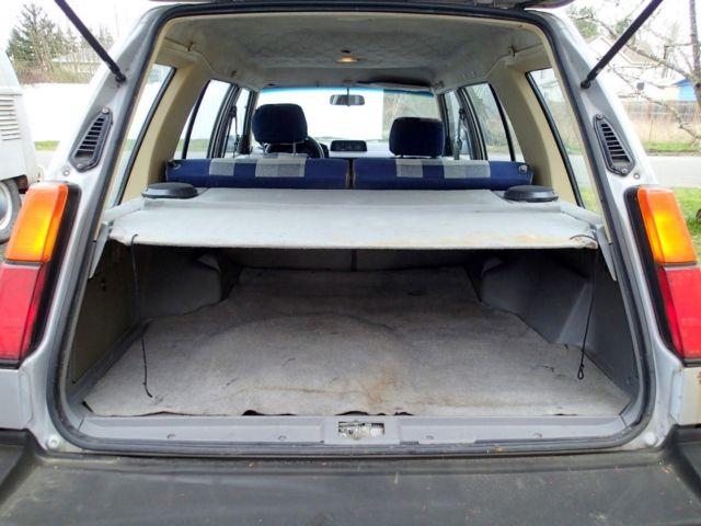No Reserve Toyota Tercel Sr X Wd Wagon W L Swap Speed Wlow