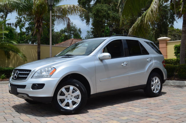 no reserve 2007 ml350 4matic p1 navigation iridium silver metallic 88k miles. Black Bedroom Furniture Sets. Home Design Ideas