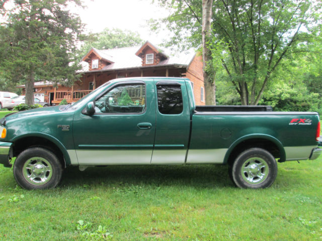 No Reserve F150 Quad Cab Four Door Short Bed Topper Ladder Rack
