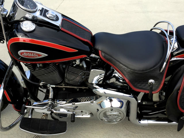 Harley Davidson Motorcycles For Sale California >> OEM FLSTS Heritage Springer Softail True Dual Exhaust Saddlebags Whitewall Tires
