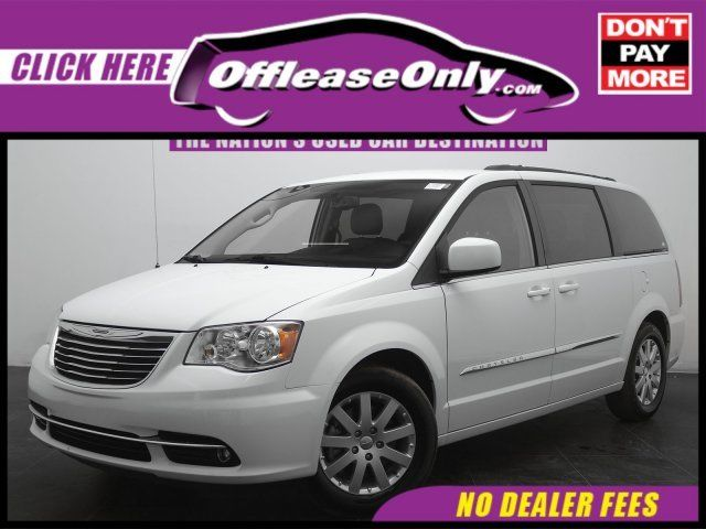 Off Lease Only Bright White Clearcoat 2016 Chryslertown Countrytouring Fwd Wit