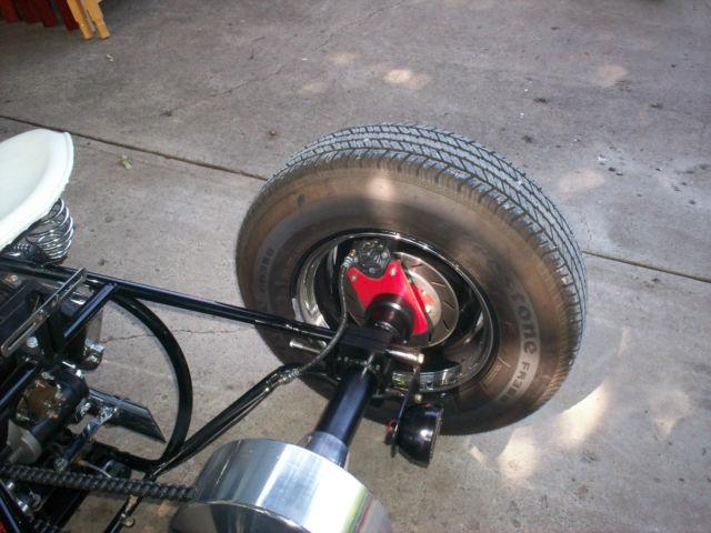 school bobber trike custom