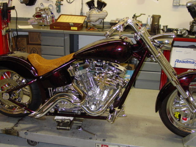One Of A Kind Custom Built 2006 Pro Street Motorcycle Like New 113 S S Motor