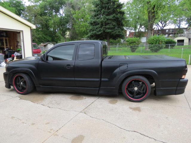 One Of A Kind Custom Satin Black Supercharged 2005 Toyota Tacoma X