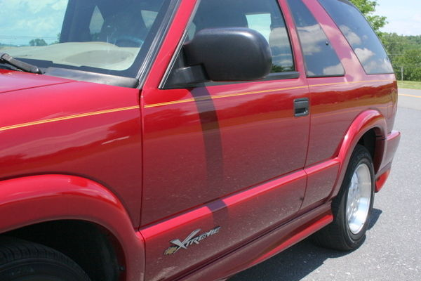 One Owner  2001 Chevrolet Blazer Xtreme 5 Speed Manual Transmission Very Rare