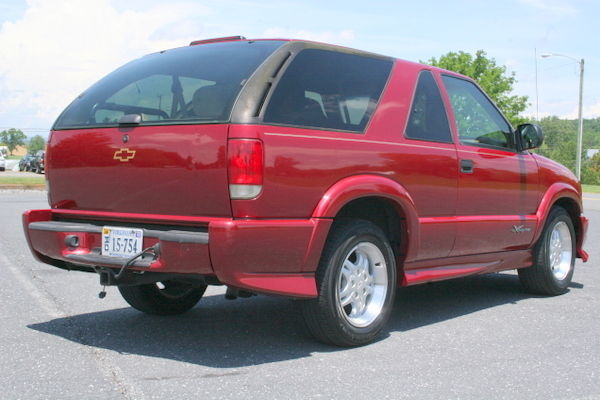 One Owner  2001 Chevrolet Blazer Xtreme 5 Speed Manual