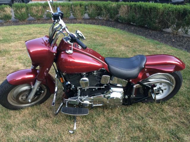 Buell Motorcycles For Sale >> ONE OWNER & ONLY 2,737 miles! 1999 Harley Davidson FLSTF Fat Boy Street Stalker