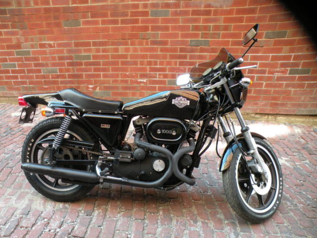 Orig Classic Harley XLCR Cafe Racer Sportster Motorcycle AMF Ironhead Panhead