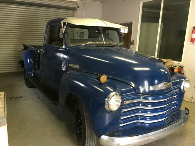 Patina Perfect Rare 1950 Chevy 3600 Truck Original Not