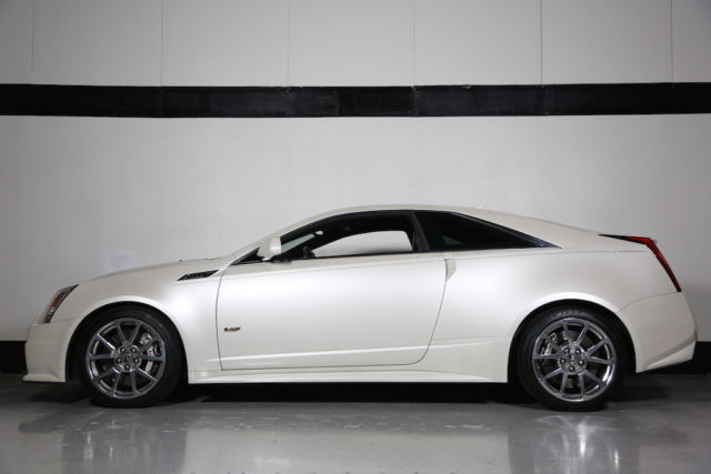 Pearl White 2011 Fully Loaded Cadillac Cts V Coupe