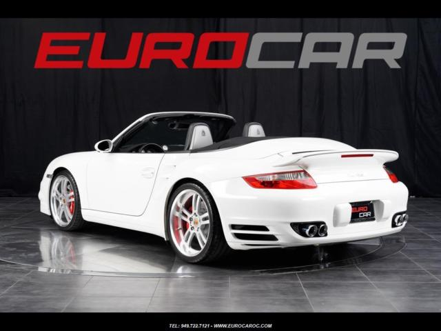 Porsche 911 Turbo Cabriolet Sport Seats Custom Wheels