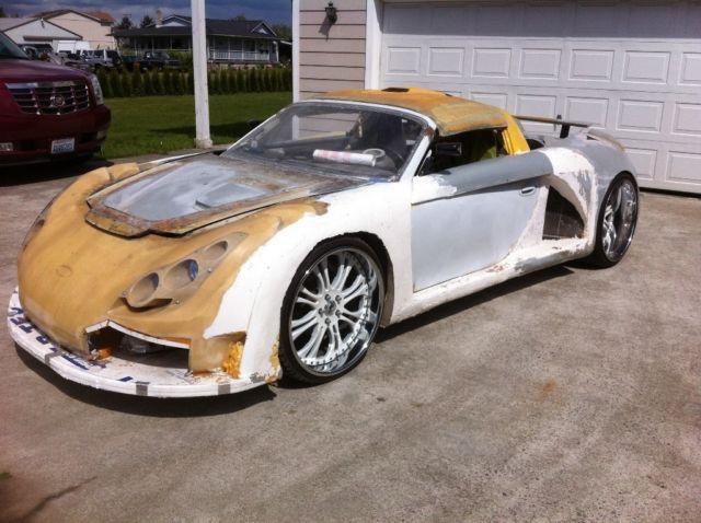 Porsche Boxster Concept Kit Car Replica Carrera Gt