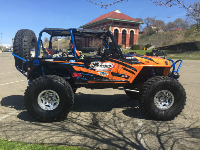 Professionally Built Rock Crawler Built By Genright Jeep