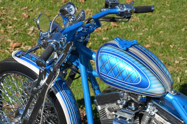 Psychedelic acm american classic motors custom bobber for American classic customs