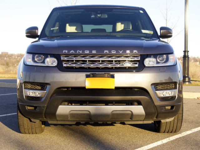 range rover sport hse supercharged 6 cyl 2014 corris gray ivory ebony interior. Black Bedroom Furniture Sets. Home Design Ideas