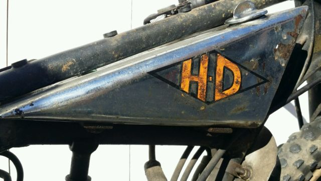 Rare 1928 Harley Model Ba Peashooter Single 350cc: Rare 1920s Harley Davidson Peashooter Racer Track Bike