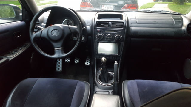Rare 2003 Lexus Is300 Black Manual Guide