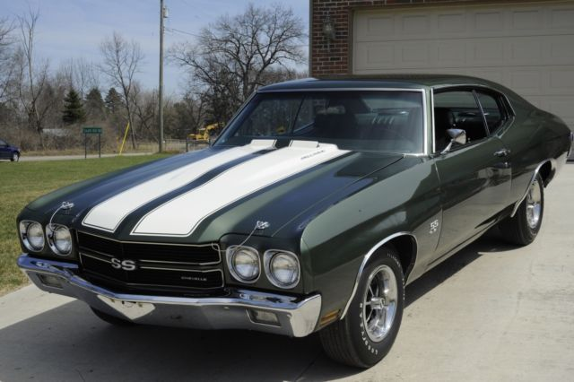 RARE MATCHING NUMBERS 1970 Chevelle SS LS6 454/450hp